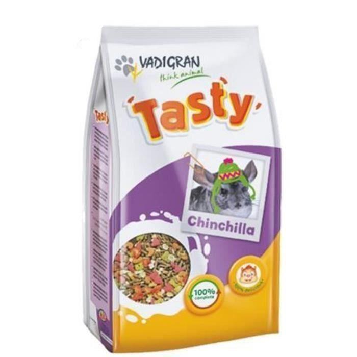 VADIGRAN Tasty Nourriture pour chinchillas 3 x 900g