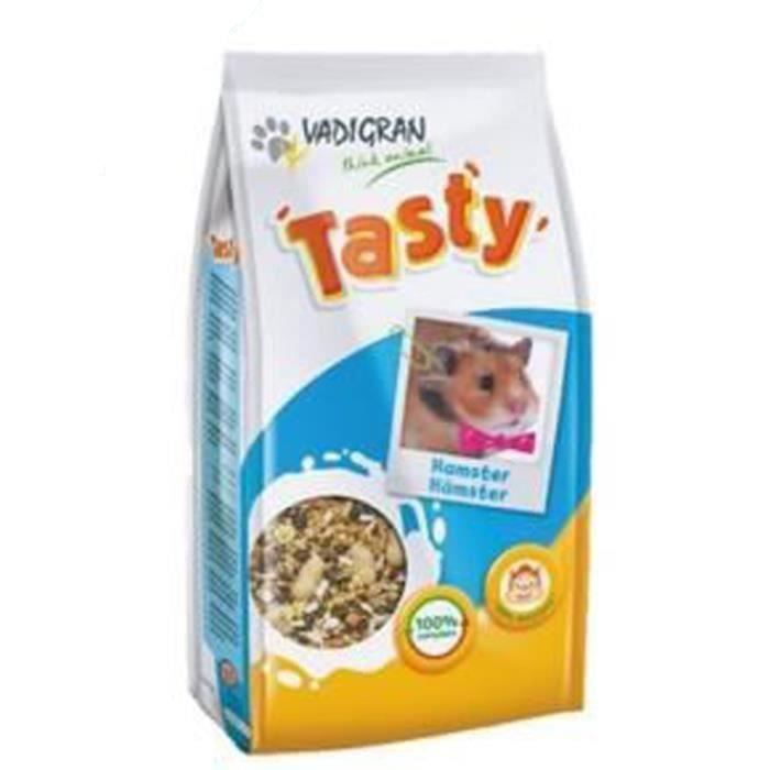 VADIGRAN Lot de 3 Tasty Nourriture pour hamsters 800g