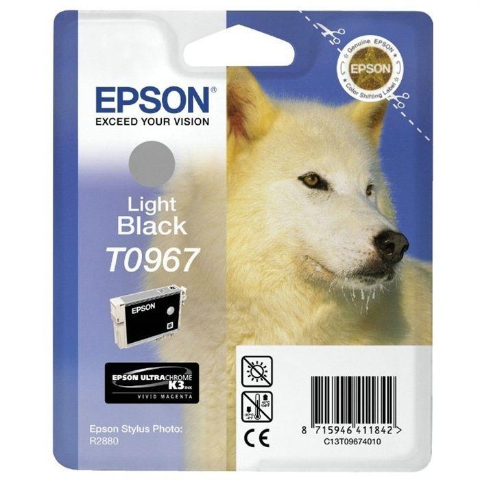 Epson T0967 Loup Cartouche d'encre Gris