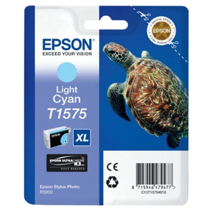 Epson Pack de 1 Cartouche T1575 Cyan clair Standard