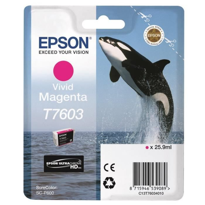 Epson Orque T7603 Vivid Magenta