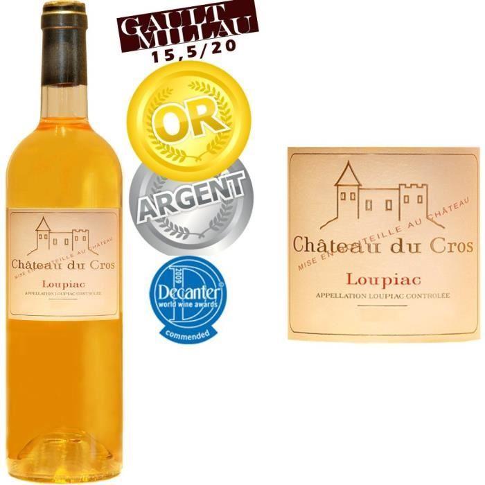 Château du Cros 2012 Loupiac - Vin blanc du Sud Ouet