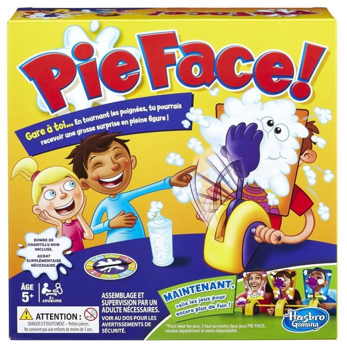 HASBRO GAMING - PIE FACE (Réaction en chaine)