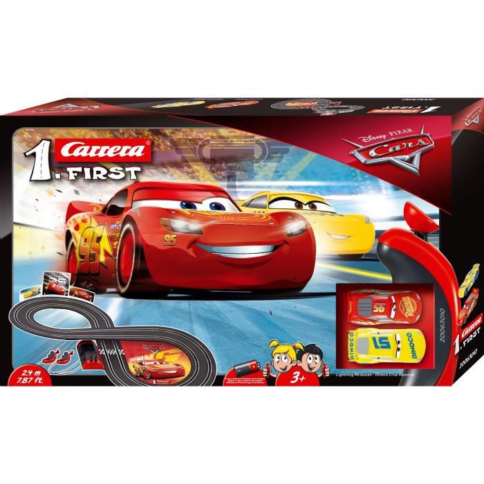 Carrera First Disney·Pixar Cars 2,4 m