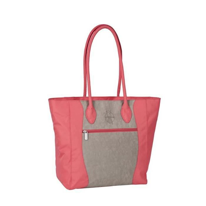 Lassig sac à langer casual tote bag duo color d...