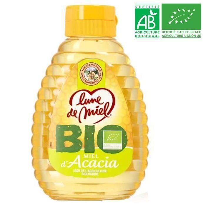 Miel d'acacia liquide - Bio - 250g