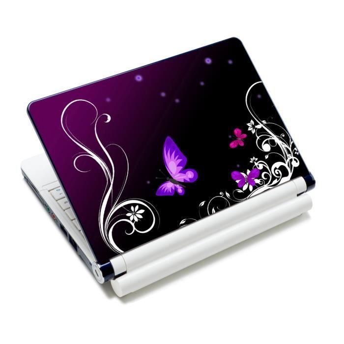 Luxburg Autocollants Sticker pour ordinateur portable 10 12 13 14 15 pouces Artwork Papillons
