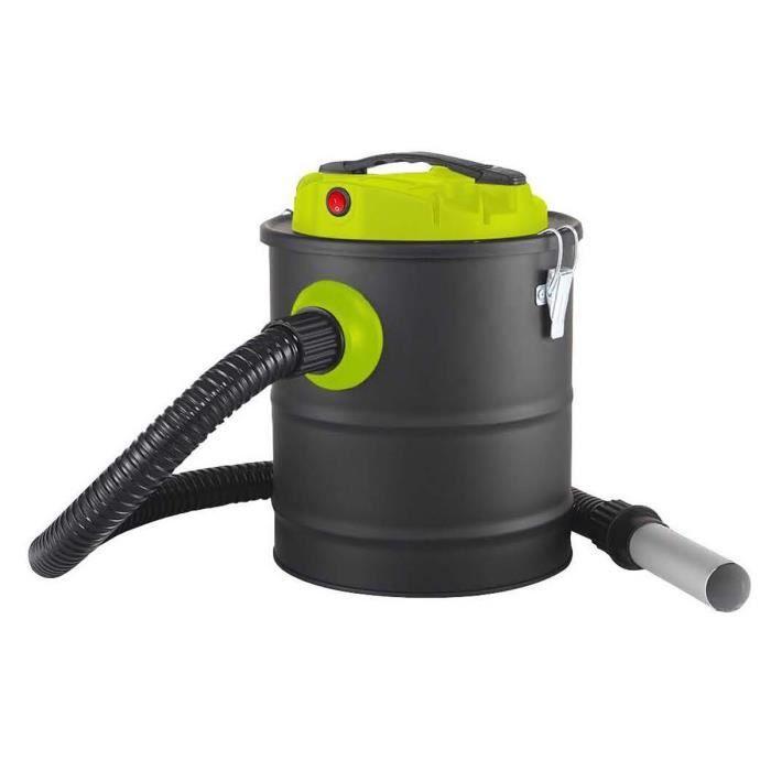 QLIMA Aspirateur à cendre ASZ1010 - 600 W - 12 L