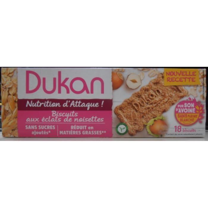 Dukan biscuits noisettes et son d'avoine 225g