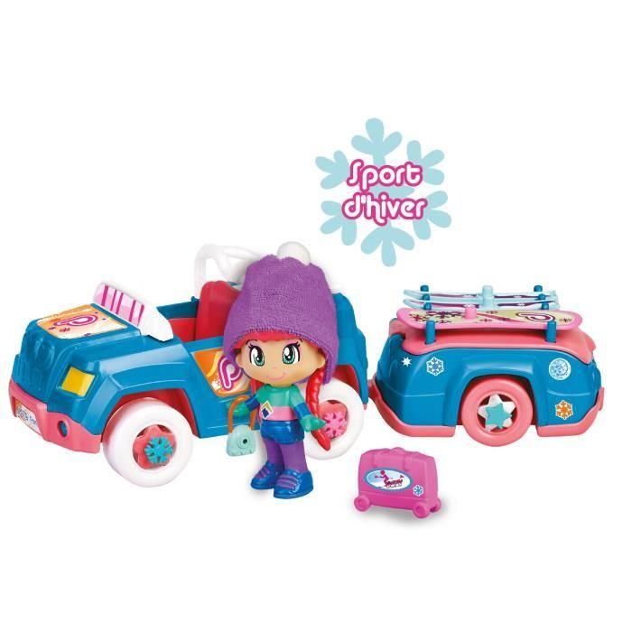 Pinypon - La voiture remorque - Sport d'hiver