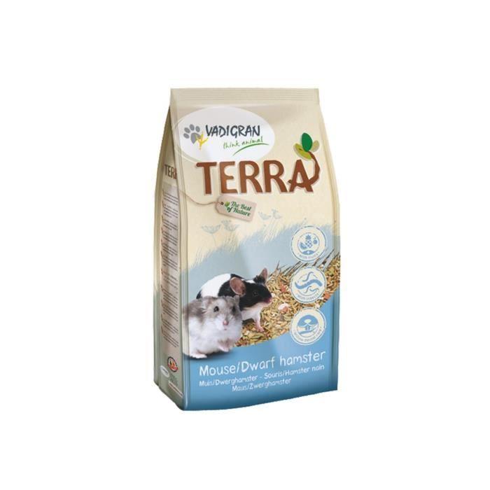 VADIGRAN Nourriture TERRA Souris & Hamster nain 700g