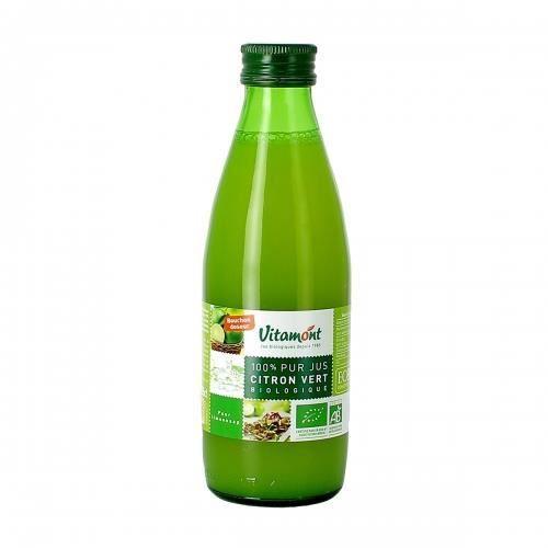 VITAMONT - 100% pur jus de citron vert bio 25 cl -