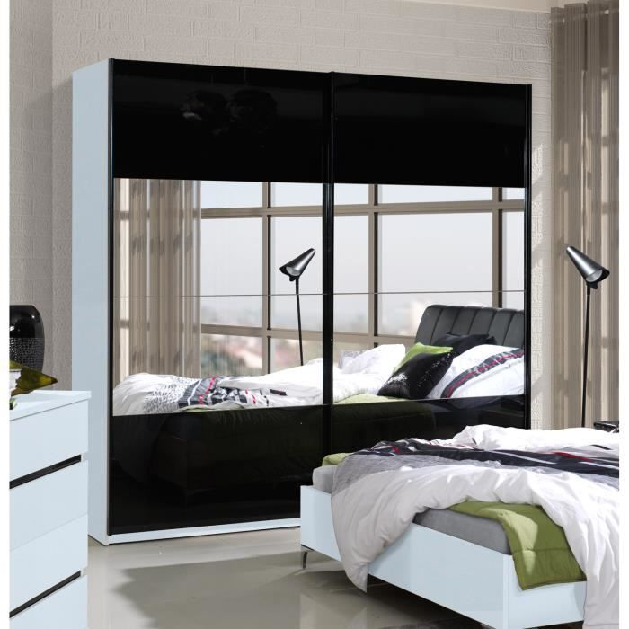 Cdiscount armoire chambre finest armoire p alex pin with - Chambre adulte cdiscount ...