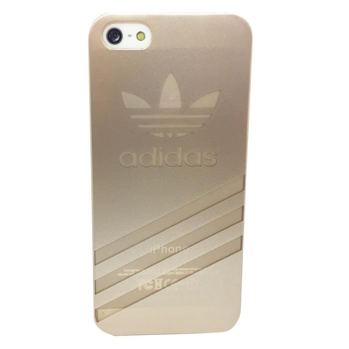 Coque iphone 5s adidas or apple etui housse bumper achat for Housse iphone 5 c
