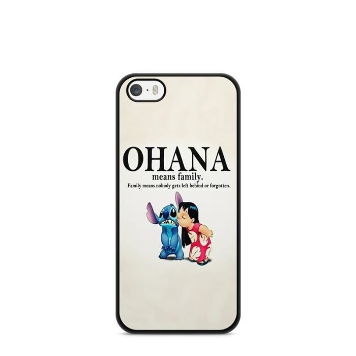 coque iphone 5c lilo stitch tortue love ohana cita