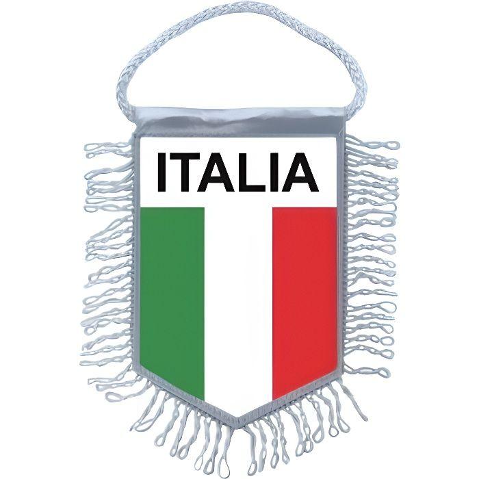 Drapeau de voiture Italie 30 x 40 cm