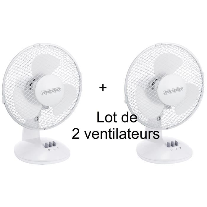 Lot de 2 Ventilateurs