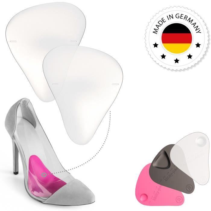 aiguille Semelle Support EU 37 Demi Chaussure plantaire en 38 transparent de Coussinets Voûte Talon hauts Gel 36 Silicone à f6Y7vbmIyg