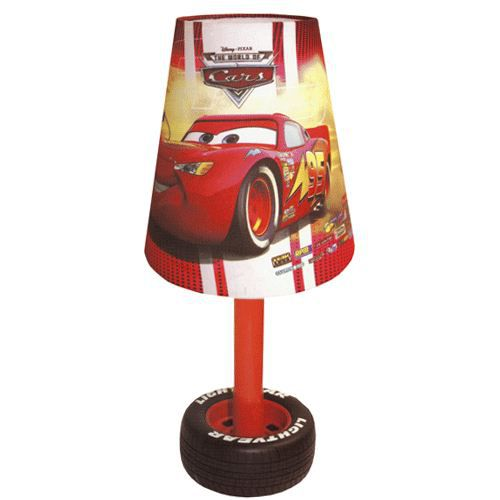 lampe de chevet cars lampes et luminaires sur. Black Bedroom Furniture Sets. Home Design Ideas