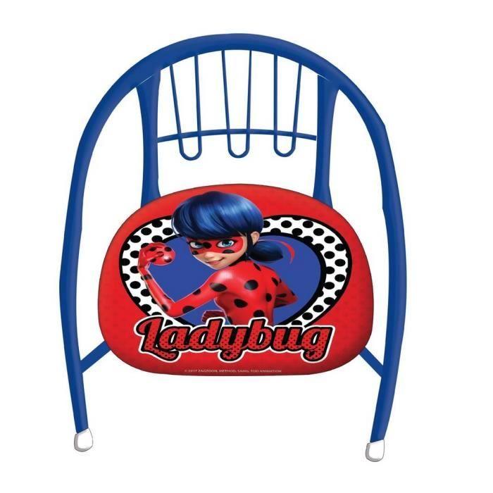 Achat Miraculous Chaise enfant en metal fauteuil Ladybug jGUzMpLVSq