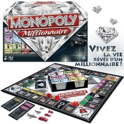 monopoly millionnaire achat vente jeu soci t plateau cdiscount. Black Bedroom Furniture Sets. Home Design Ideas