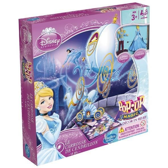 Jeu Pop up Le Carosse de Cendrillon
