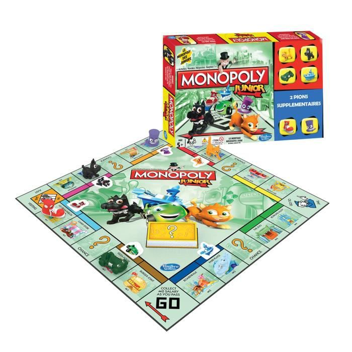 monopoly junior. Black Bedroom Furniture Sets. Home Design Ideas
