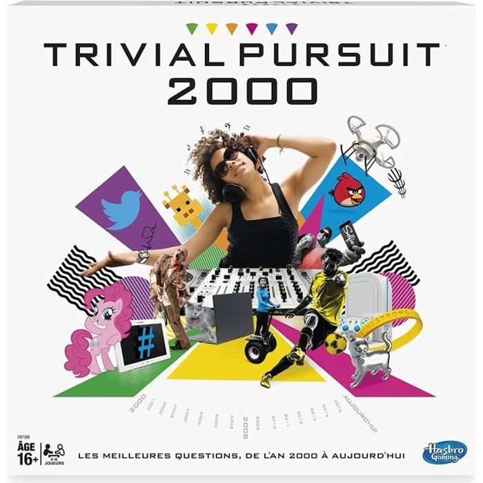 JEU SOCIÉTÉ - PLATEAU HASBRO Jeu de société Trivial Pursuit 2000