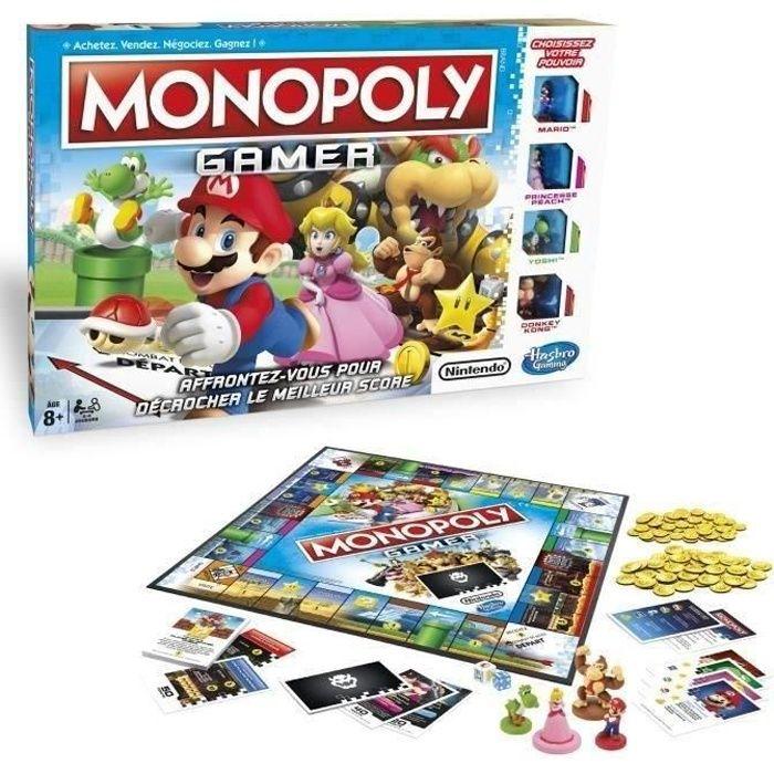 JEU SOCIÉTÉ - PLATEAU Monopoly Gamer – Jeu de société - Jeu de plateau