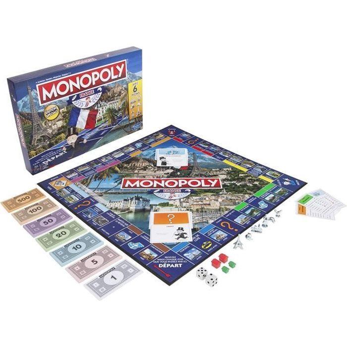 JEU SOCIÉTÉ - PLATEAU MONOPOLY Hasbro - Edition France - Jeu de Société