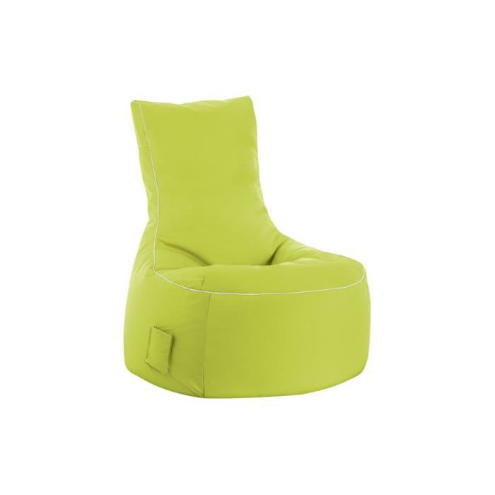 Fauteuil design swing vert anis by sittingpoint achat vente fauteuil 100 - Fauteuil crapaud vert anis ...