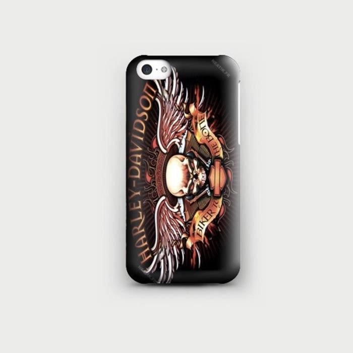 coque iphone x harley davidson
