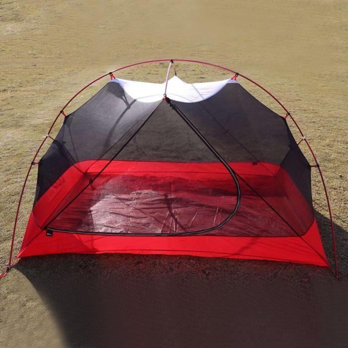 TENTE DE CAMPING Tente 2 places étanche 185x66x92cm pour camping ex