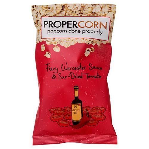 CHIPS Propercorn Fiery Worcester Sauce & Sun Dried Popco