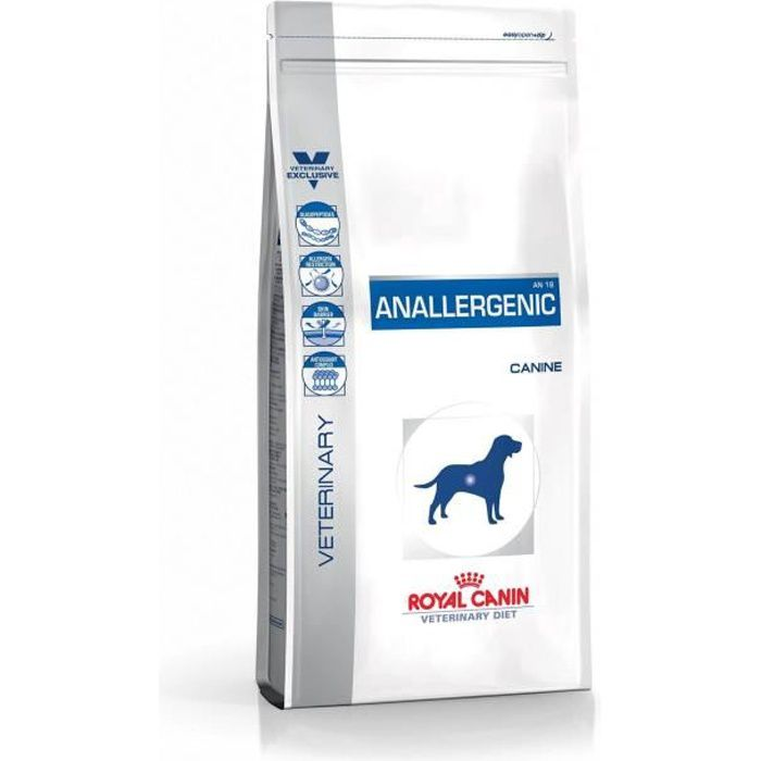 CROQUETTES ROYAL CANIN Croquette Vdiet Anallergenic - Pour ch
