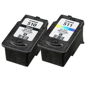 Canon cartouches PG-510 B/C/M/Y Pack couleurs