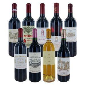 COFFRET CADEAU VIN DUCLOT 2009 1er cru Bordeaux Caisse de vin de Bord