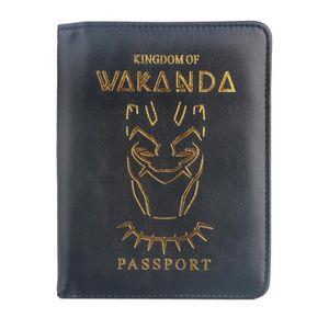 Véritable Noir Cuir Housse Braun Buffel Étui pour passeport