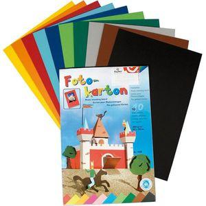 CARTON ONDULÉ Carton - Assortiment 10 couleurs - 300 g/m² - A…