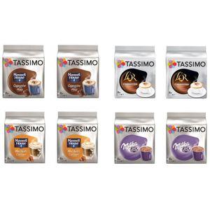 CAFÉ TASSIMO Café Lot gourmand - 4 variétés - 64 dosett