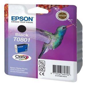 CARTOUCHE IMPRIMANTE Epson T0801 Colibri Cartouche d'encre Noir