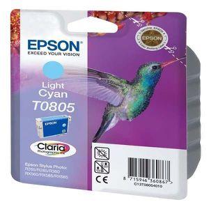 CARTOUCHE IMPRIMANTE Epson T0805 Colibri Cartouche d'encre Cyan clair