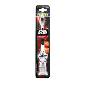 BROSSE A DENTS Firefly Star Wars doux Âge 3-6 Brosse à dents avec