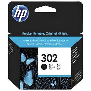 CARTOUCHE IMPRIMANTE HP 302 cartouche d'encre noire authentique pour HP