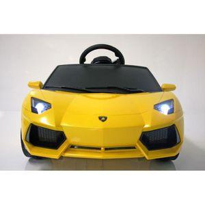 VOITURE ELECTRIQUE ENFANT INJUSA Lamborghini Voiture électrique enfant avec