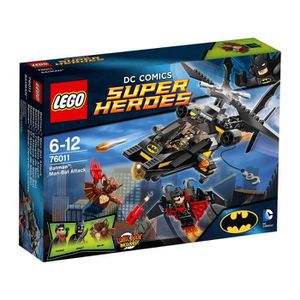 ASSEMBLAGE CONSTRUCTION LEGO 76011 DC Comics Super Heroes Batman L'Attaque