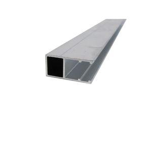 Profil Bordure Monobloc En U Toiture Polycarbonate L 3 M E 16 Mm Aluminium