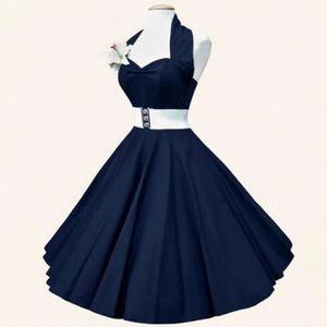 ROBE Vintage 1950's Audrey Hepburn pin-up robe de soiré