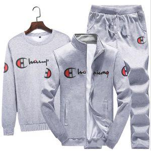 Ensemble de vêtements Ensemble Sweatshirt Survêtement - Homme - Noir et