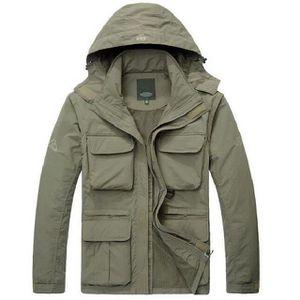 BLOUSON Zencart Outwear Veste Militaire Hommes Imperméable